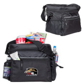 All Sport Black Cooler-SIUE Cougars Official Logo