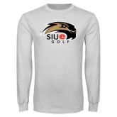 White Long Sleeve T Shirt-Golf