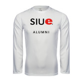 Syntrel Performance White Longsleeve Shirt-Alumni