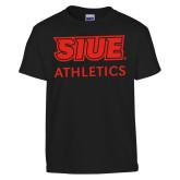 Youth Black T Shirt-SIUE