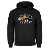 Black Fleece Hoodie-SIUE Cougars Official Logo