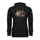 Adidas Climawarm Black Team Issue Hoodie-SIUE Cougars Official Logo
