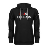 Adidas Climawarm Black Team Issue Hoodie-SIUE Cougars Stacked