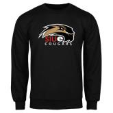 Black Fleece Crew-SIUE Cougars Official Logo