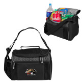 Edge Black Cooler-SIUE Cougars Official Logo