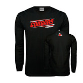 Black Long Sleeve TShirt-Cougars #SIUENATION