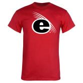 Red T Shirt-e Slash Mark