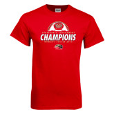 Red T Shirt-2016 Womens Soccer Champions
