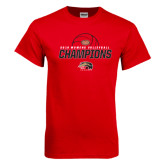 Red T Shirt-2016 Womens Volleyball Champions