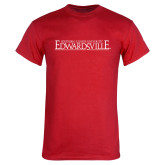 Red T Shirt-Institutional Mark