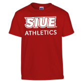 Youth Red T Shirt-SIUE