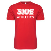 Next Level SoftStyle Red T Shirt-SIUE