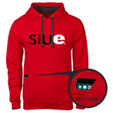 Contemporary Sofspun Red Hoodie-SIUE