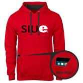Contemporary Sofspun Red Hoodie-SIUE