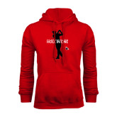 Red Fleece Hoodie-Hole In One