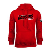 Red Fleece Hoodie-Cougars #SIUENATION