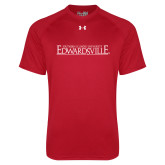 Under Armour Red Tech Tee-Institutional Mark
