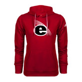 Adidas Climawarm Red Team Issue Hoodie-e Slash Mark