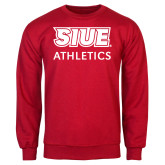 Red Fleece Crew-SIUE