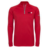 Under Armour Red Tech 1/4 Zip Performance Shirt-SIUE