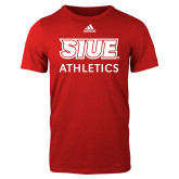 Adidas Red Logo T Shirt-SIUE