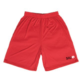 Syntrel Performance Red 9 Inch Length Shorts-SIUE