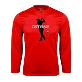 Performance Red Longsleeve Shirt-Hole In One