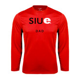 Syntrel Performance Red Longsleeve Shirt-Dad