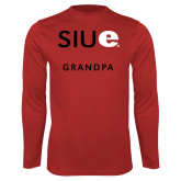 Syntrel Performance Red Longsleeve Shirt-Grandpa