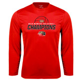 Syntrel Performance Red Longsleeve Shirt-2016 Womens Volleyball Champions