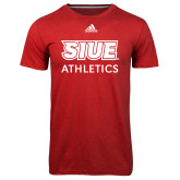Adidas Climalite Red Ultimate Performance Tee-SIUE
