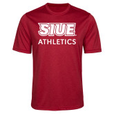 Performance Red Heather Contender Tee-SIUE
