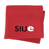 Red Sweatshirt Blanket-SIUE