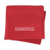 Red Sweatshirt Blanket-Institutional Mark