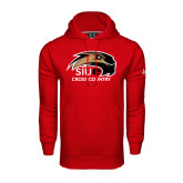 Under Armour Red Performance Sweats Team Hoodie-Cross Country