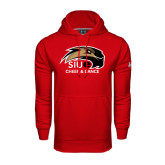 Under Armour Red Performance Sweats Team Hoodie-Cheer and Dance