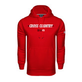 Under Armour Red Performance Sweats Team Hoodie-Cross Country Arrow