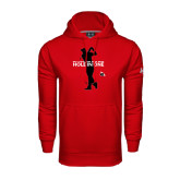 Under Armour Red Performance Sweats Team Hoodie-Hole In One