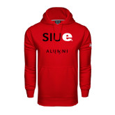 Under Armour Red Performance Sweats Team Hoodie-Alumni