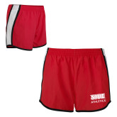 Ladies Red/White Team Short-SIUE