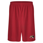 Performance Classic Red 9 Inch Short-SIUE Cougars Official Logo