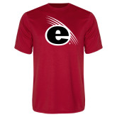 Performance Red Tee-e Slash Mark