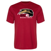 Performance Red Tee-Basketball