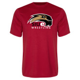 Performance Red Tee-Wrestling