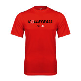 Performance Red Tee-Volleyball w/ Ball