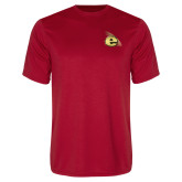 Performance Red Tee-Gold E