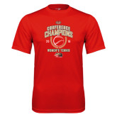Syntrel Performance Red Tee-2016 Womens Tennis Conference Champions