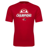 Syntrel Performance Red Tee-2016 Mens Soccer Champions