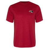 Syntrel Performance Red Tee-SIUE Cougars Official Logo