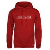 Russell DriPower Red Fleece Hoodie-Institutional Mark
